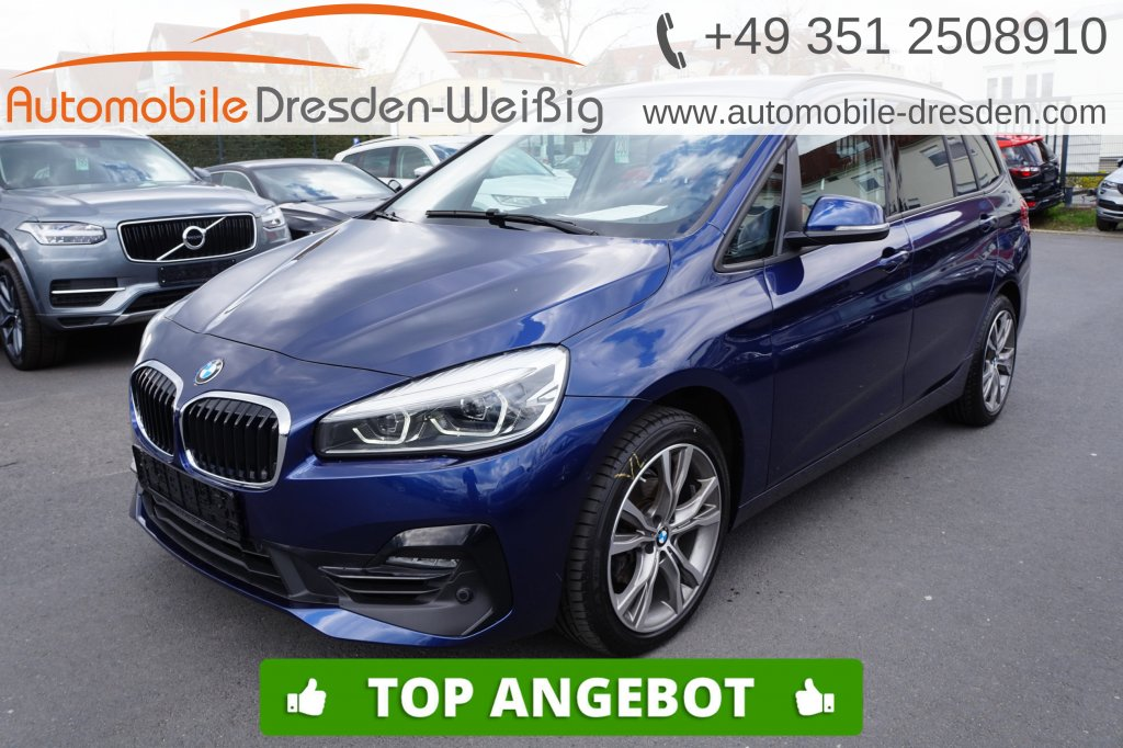 BMW 216 Gran Tourer i Sport Line*Navi*LED*18Zoll*PDC, Jahr 2018, Benzin
