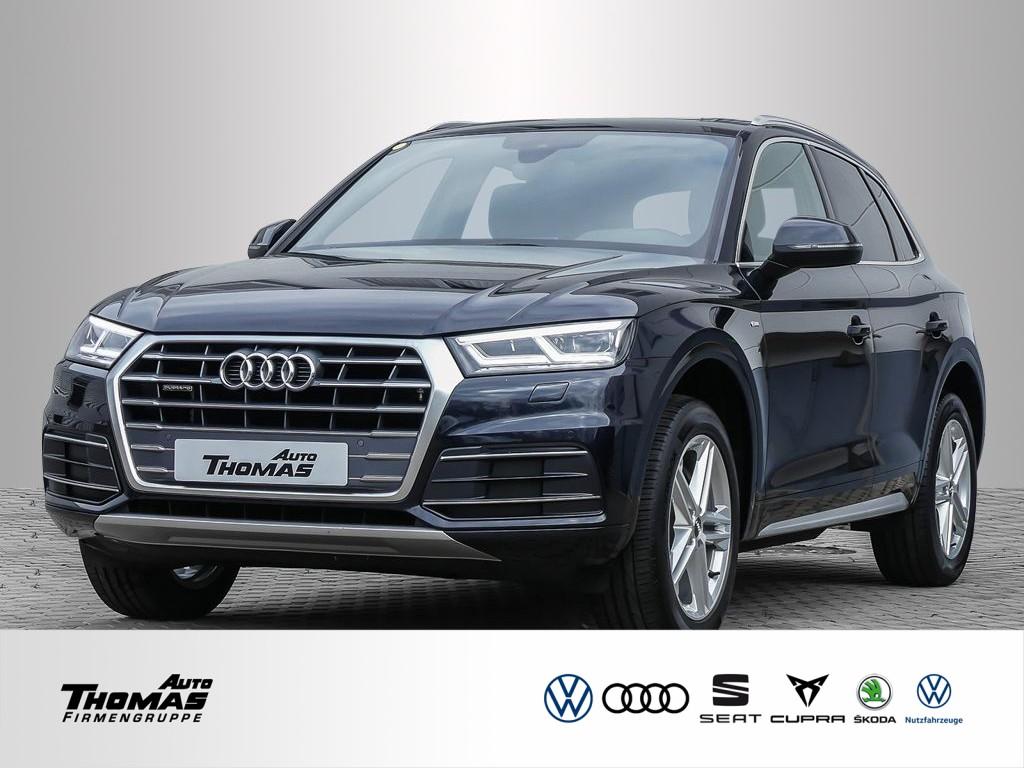 "Audi Q5 ""S line"" 2.0 TDI quattro S tronic LED+STDHZG, Jahr 2018, diesel"