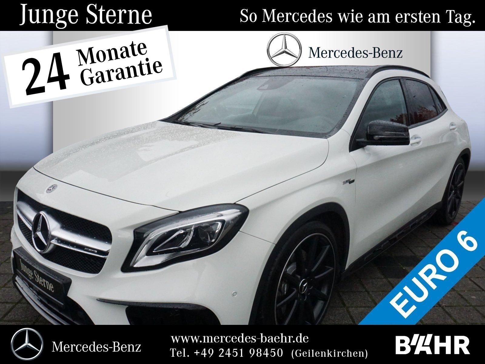 Mercedes-Benz GLA 45 AMG 4M Night/Comand/LED/Driver'sPackage, Jahr 2017, petrol