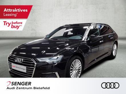 Audi A6 Avant Design 45 TDI PANO VC LEDER AHK, Jahr 2020, Diesel