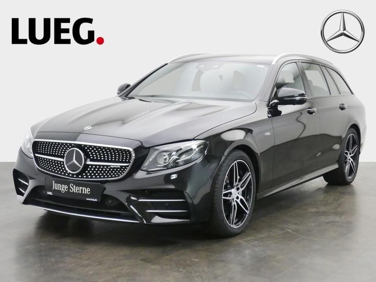 Mercedes-Benz E 53 AMG T 4M+ COM+SHD+Mbeam+Sthzg+DistrPl+DrivP, Jahr 2019, Benzin