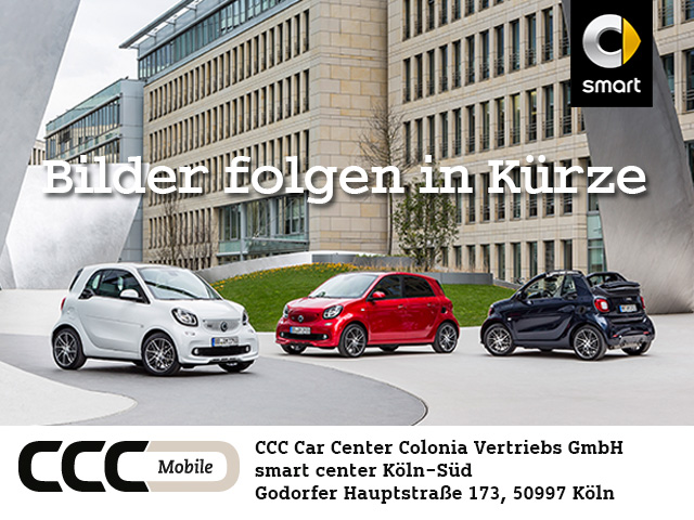 smart fortwo coupe (11.2014->), Jahr 2015, petrol