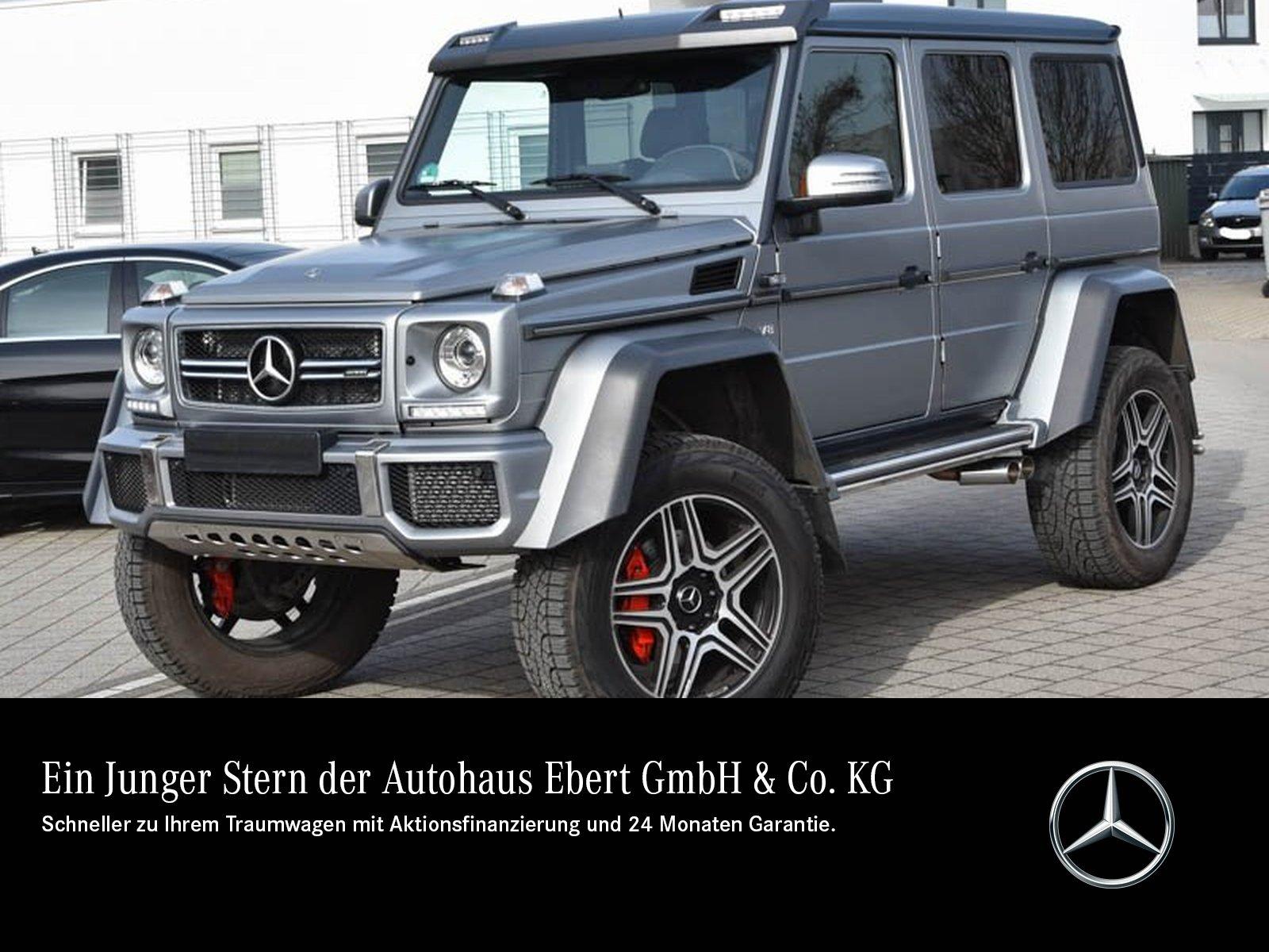 Mercedes-Benz G 500 4x4² Exclusiv COMAND+STDHZG+RFK+HARMAN+SD, Jahr 2018, Benzin