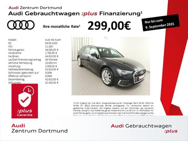 Audi A6 Avant design 45TDI qu. ACC/Leder/KAM/19Zoll/VC, Jahr 2020, Diesel