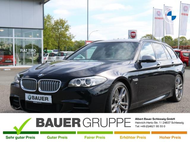 BMW M550 d xDrive Touring Leder Navi HUD Panorama LED Keyless e-Sitze Niveau Allrad AHK-klappbar, Jahr 2016, Diesel