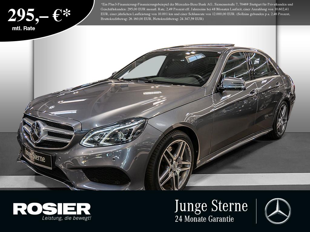 Mercedes-Benz E 350 BT 4M AMG Sport, Jahr 2017, Diesel