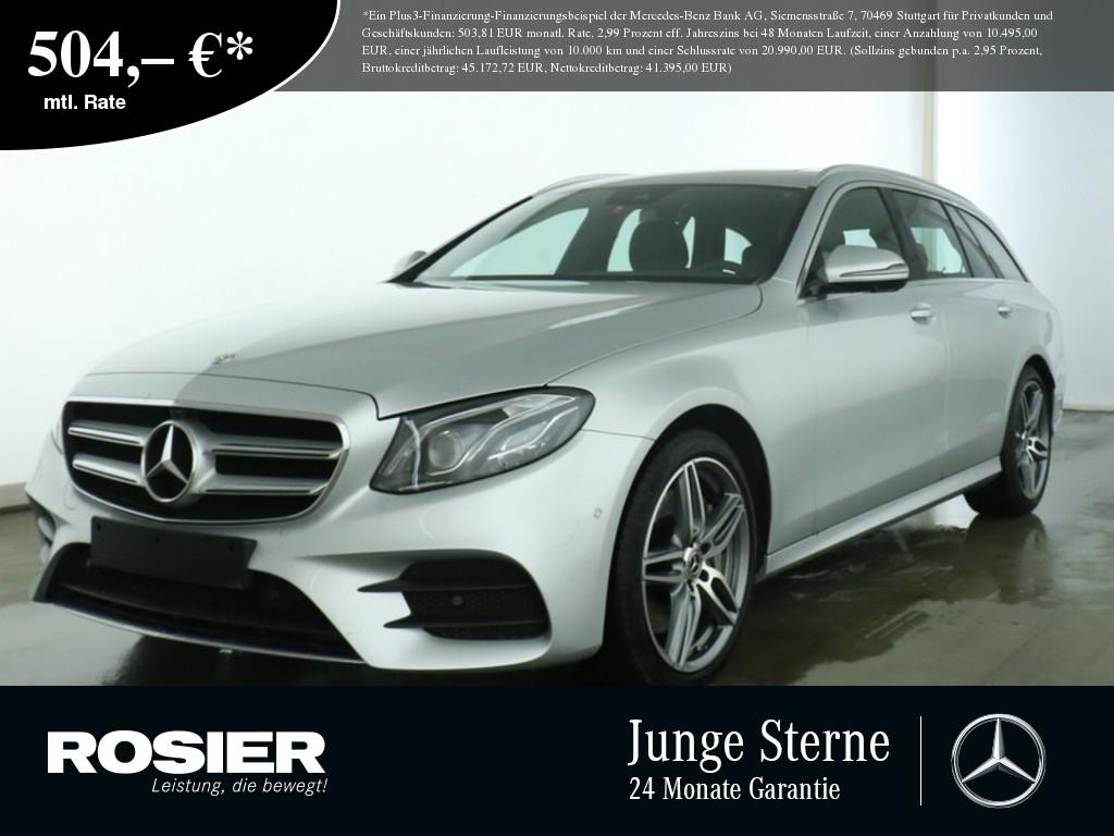 Mercedes-Benz E 450 4M T AMG Sport Wide AHK LED Navi SHD Kamer, Jahr 2019, Benzin
