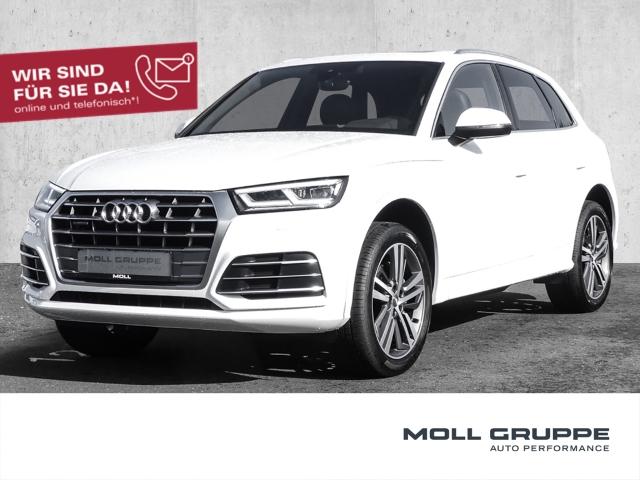 Audi Q5 2.0 TDI quattro S tronic S line sport LEDER NAVI ALU, Jahr 2017, Diesel