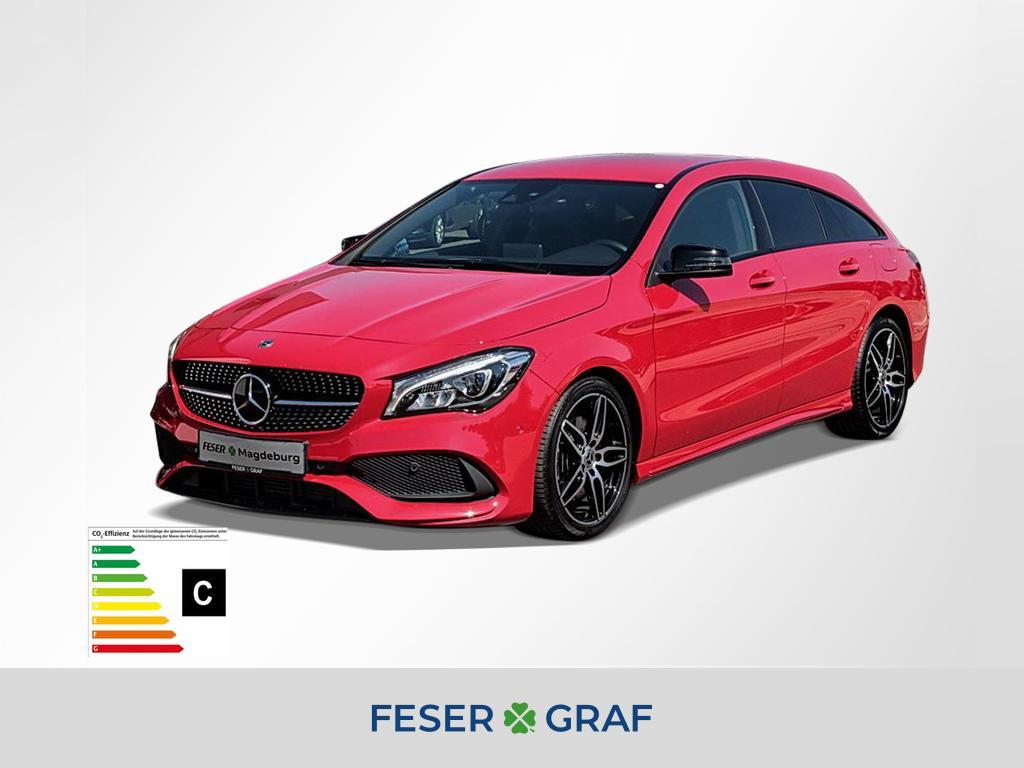 Mercedes-Benz CLA 220 Shooting Brake 4MATIC AMG line/LED/Cam, Jahr 2018, Benzin