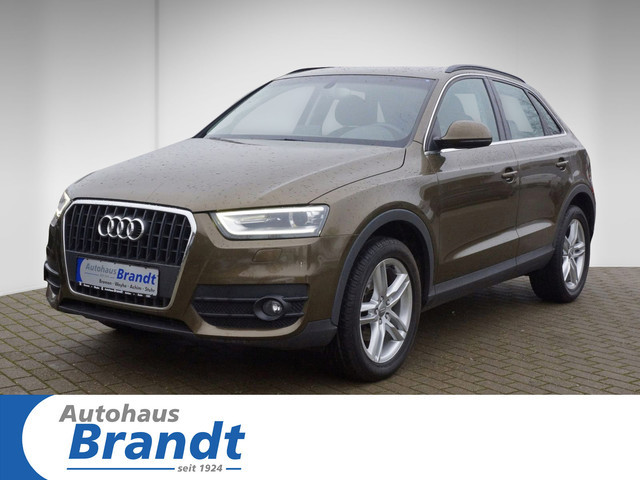 Audi Q3 2.0 TDI XENON+*EINPARKH.*SITZH., Jahr 2012, Diesel
