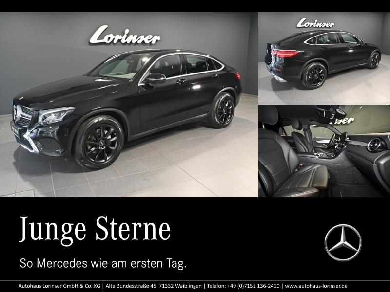 Mercedes-Benz GLC 300 4M Coupé LORINSER 19 ZOLL/DISTRONIC/NAVI, Jahr 2018, Benzin