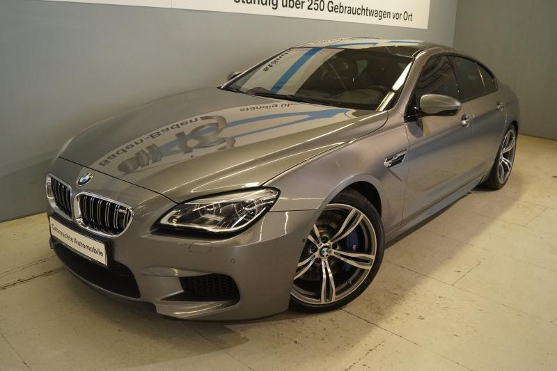 BMW M6 Gran Coupe Competition M DKG Navi Prof., Jahr 2017, petrol