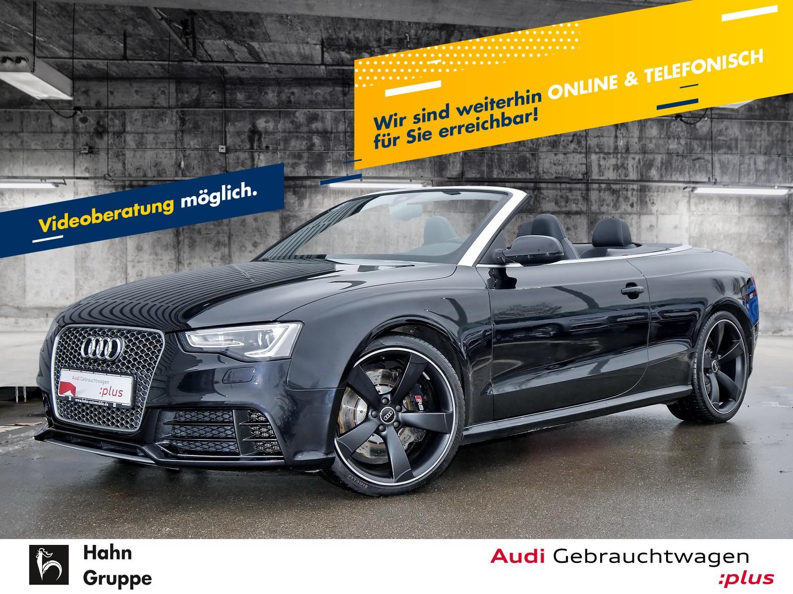 Audi RS 5 Cabriolet 4.2FSI qu. S-Trc Xen Navi Leder ACC, Jahr 2014, Benzin