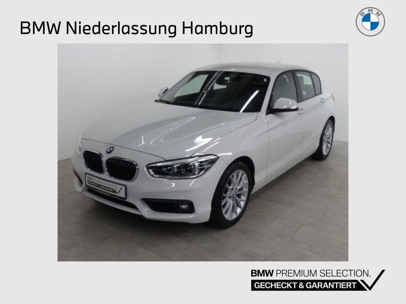 BMW 120i 5-Türer Advantage LED Navi Bus. Tempomat, Jahr 2017, Benzin