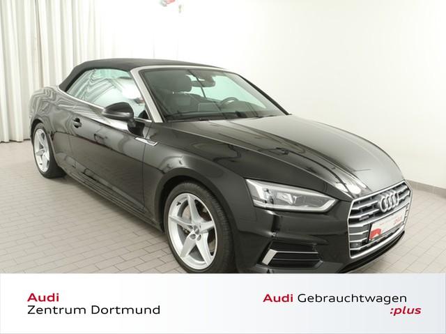 Audi A5 Cabriolet 2.0TFSI qu. Stadt/AHK/Navi+/LED/VC, Jahr 2018, Benzin