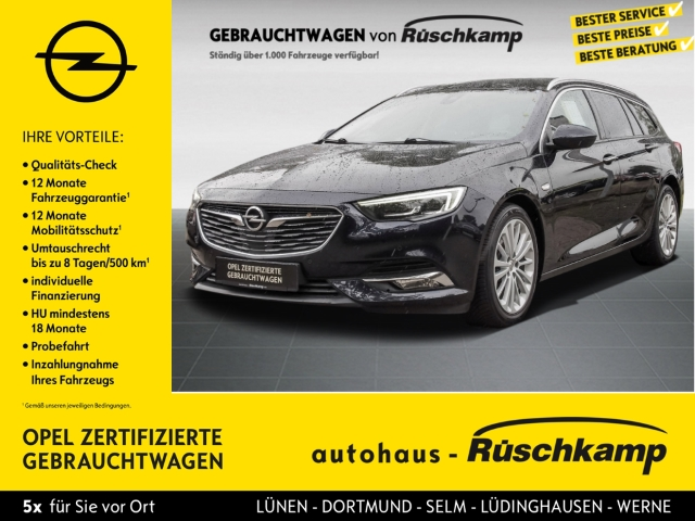 Opel Insignia B Sports Tourer INNOVATION LED Navi AHK Keyless Dyn. Kurvenlicht HUD ACC, Jahr 2017, Benzin