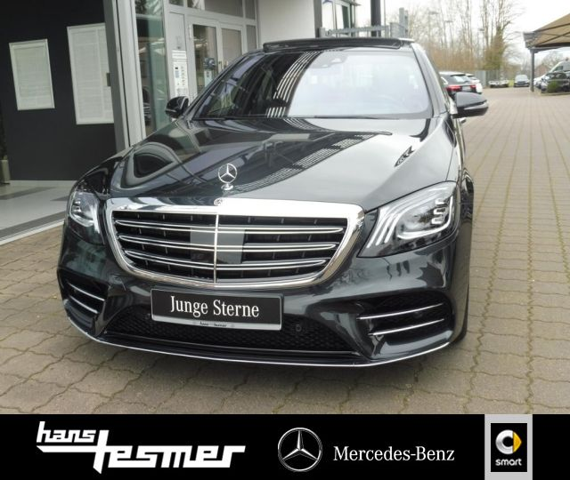 Mercedes-Benz S 400 d 4MATIC Limousine AMG-Line+Pano+Head-Up+, Jahr 2018, Diesel