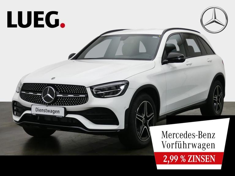 Mercedes-Benz GLC 200 4M AMG+NIGHT-P+19''+LED+KAM+MBUX+PTS+SH, Jahr 2020, Benzin