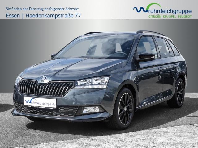 Skoda Fabia Kombi 1.0 Monte Carlo+Kimaauto+PDC+5JGaran, Jahr 2020, Benzin