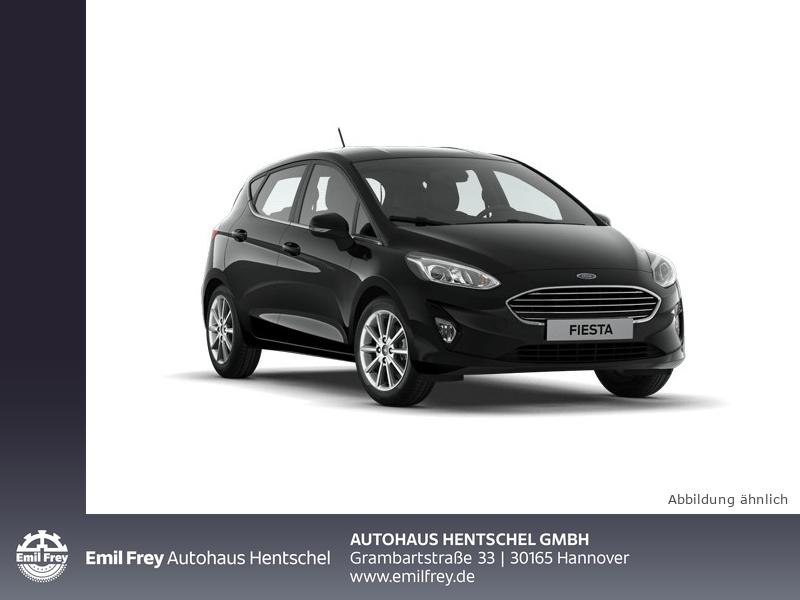 Ford Fiesta 1.0 74KW/100PS TITANIUM Easy-Driver Paket II, Jahr 2018, Benzin