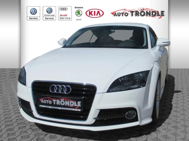 Audi TT Coupe 2.0 TFSI S line RDC Klimaautom SHZ Temp PDC CD ESP Regensensor Spieg. beheizbar, Jahr 2013, Benzin