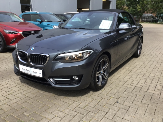 BMW 220 d Sport Line*Navi*Sitzheizung*Tempomat*u.v.m., Jahr 2015, diesel