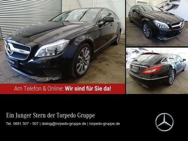 Mercedes-Benz CLS 220 d SB NAVI+COMAND+LED+SHD+STHZ+PTS+SHZ+KL, Jahr 2015, Diesel