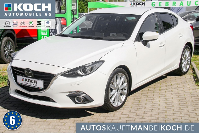 Mazda 3 2.2 SKYACTIV-D 150 Sports-Line Navi Tech-pack, Jahr 2014, Diesel