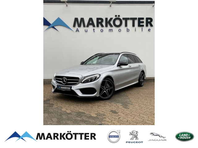Mercedes-Benz C 250 d T 4matic AMG Night/COMAND/Distronic/Panorama, Jahr 2018, Diesel