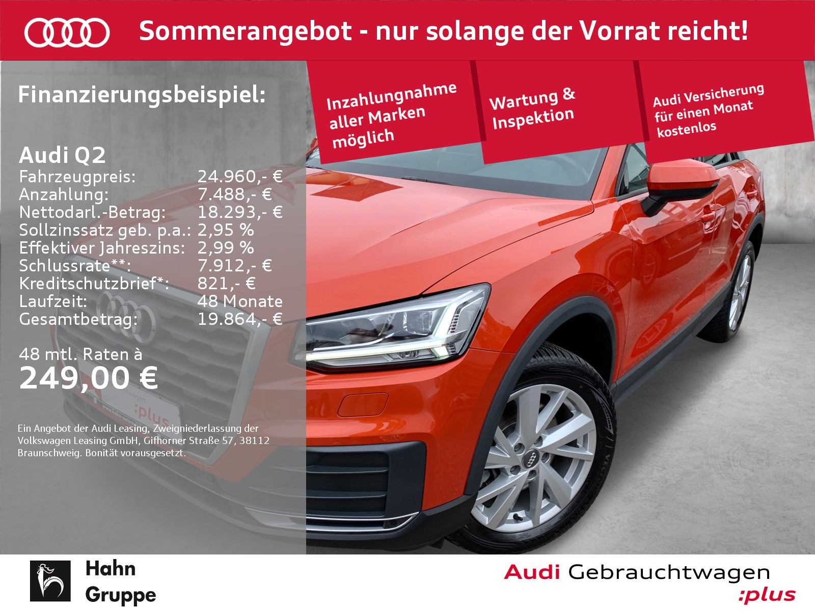 Audi Q2 1.4 TFSI S-trc Navi LED Sitzh Einpark Klima, Jahr 2018, Benzin