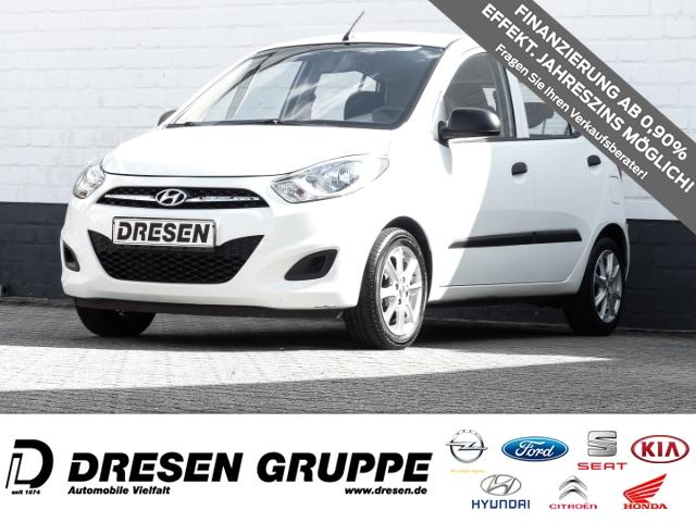 Hyundai i10 5 Star Edition 1.1 Klima+Radio+ZV Funkfernbedienung, Jahr 2013, Benzin