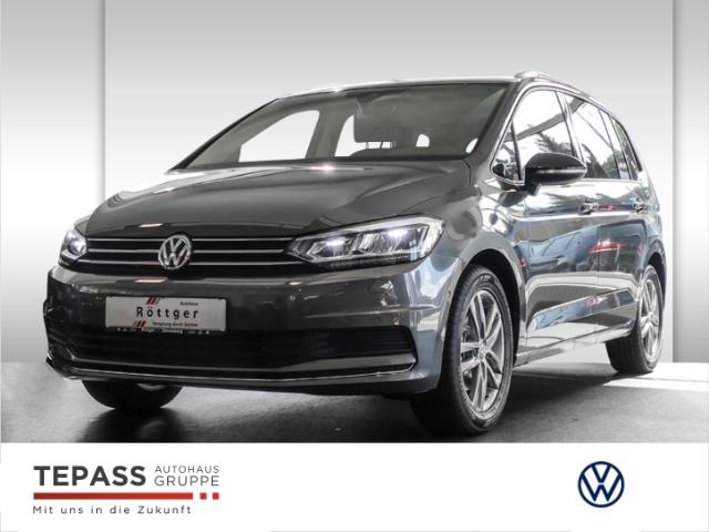 Volkswagen Touran 1.5 TSI DSG IQ-Drive LED NAVI AHK 7-Sitze SHZ DAB, Jahr 2020, Benzin