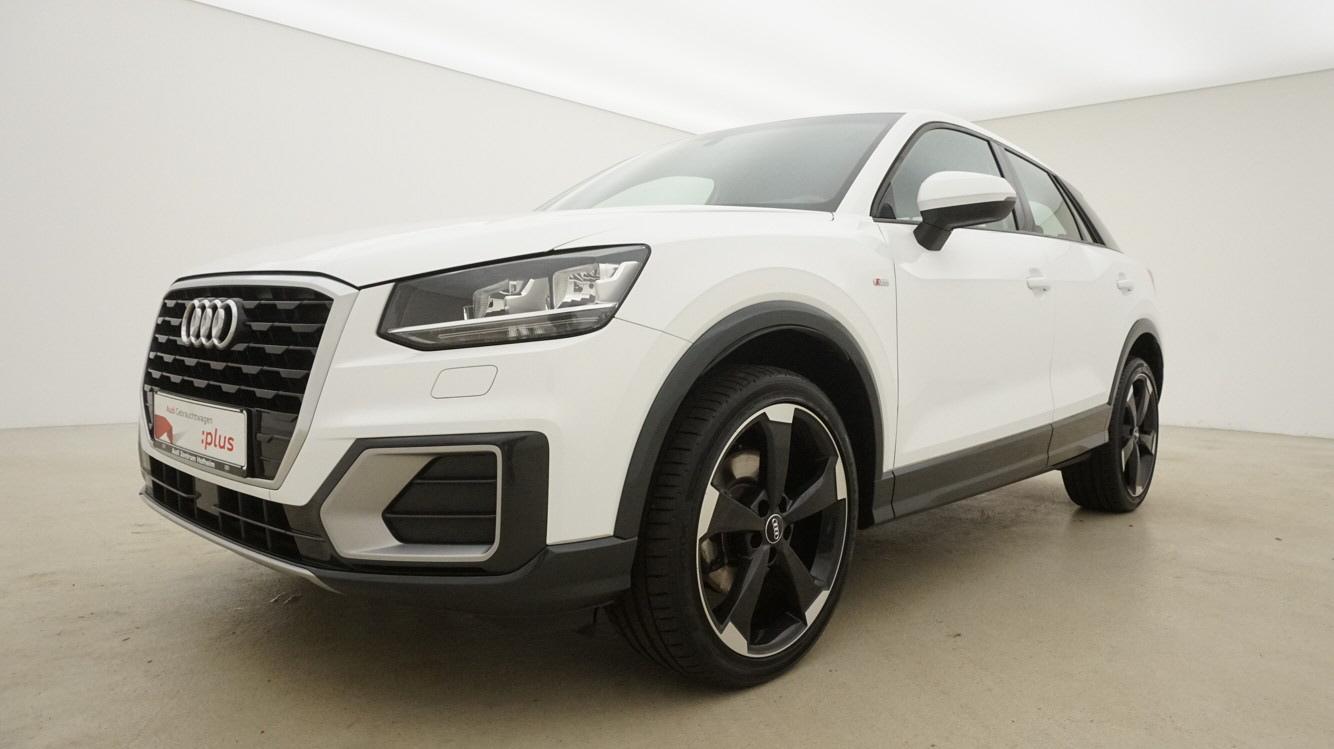 Audi Q2 1.4 TFSI S line S tro. 110 kW*AHK+*Keyless*Bl, Jahr 2017, Benzin