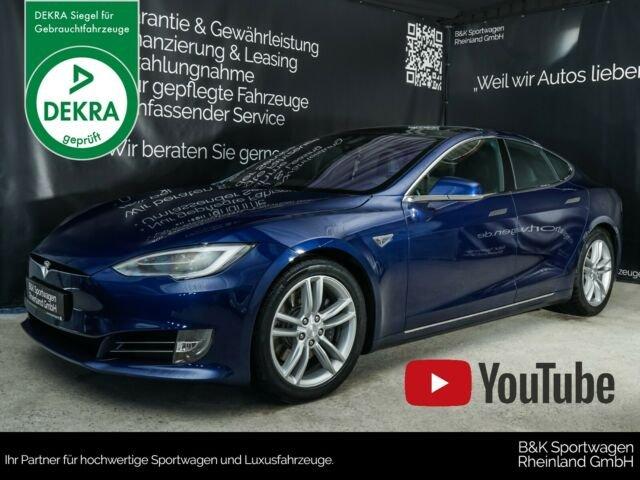Tesla Model S 90D PREMIUM/PANO/AUTOPILOT/SMART-AIR, Jahr 2016, Elektro