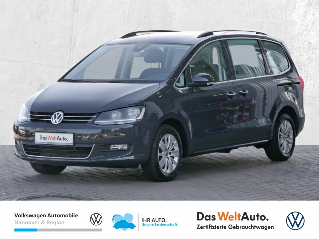 Volkswagen Sharan 2.0 TDI Comfortline Navi AHK PDC SHZ BlindSpot, Jahr 2020, Diesel