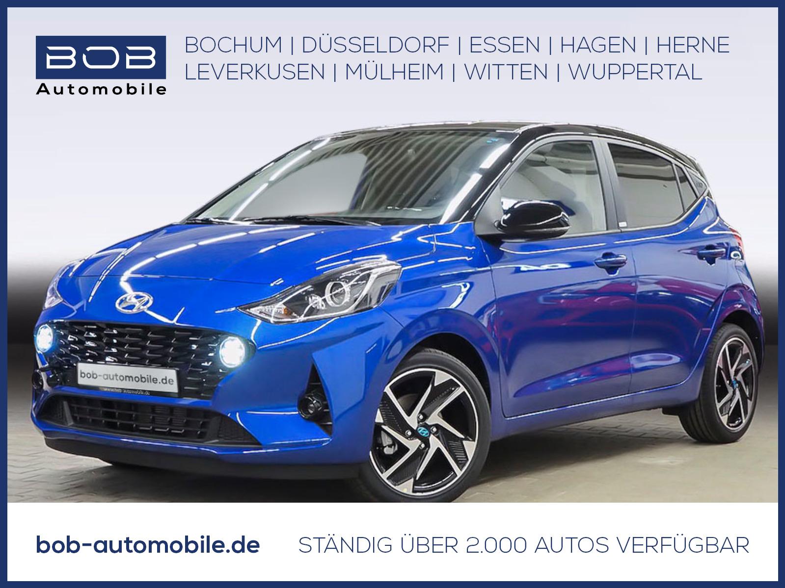 "Hyundai i10 1.0 Benzin Style Navi 16""Alu SHZ BT Kamera, Jahr 2020, petrol"