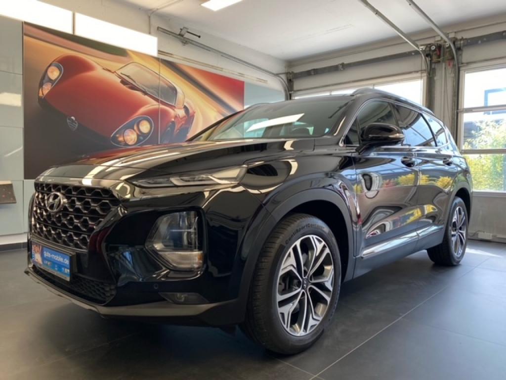 Hyundai Santa Fe 2.4 GDi Premium 4WD * LED NAVI PANO*, Jahr 2019, Benzin