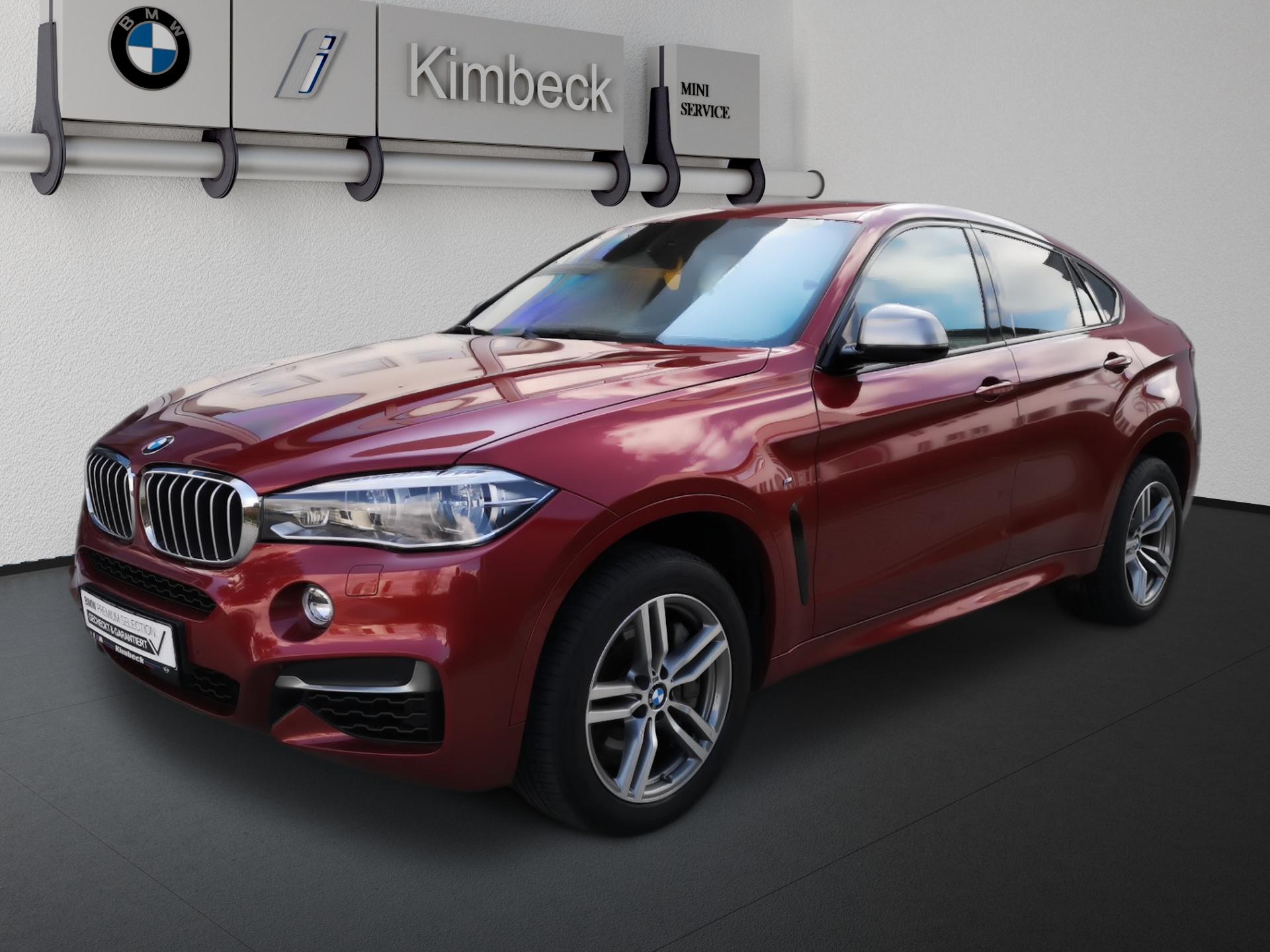 BMW X6 M50d M SPORT Headup Pano ACC Komfortsitze, Jahr 2017, Diesel