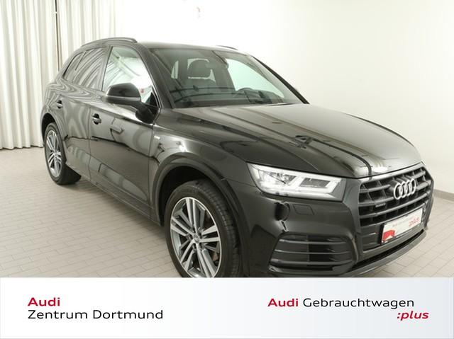 Audi Q5 2.0 TFSI qu. 3xS line/Black/Pano/STHZ/AHK/20Z, Jahr 2018, Benzin
