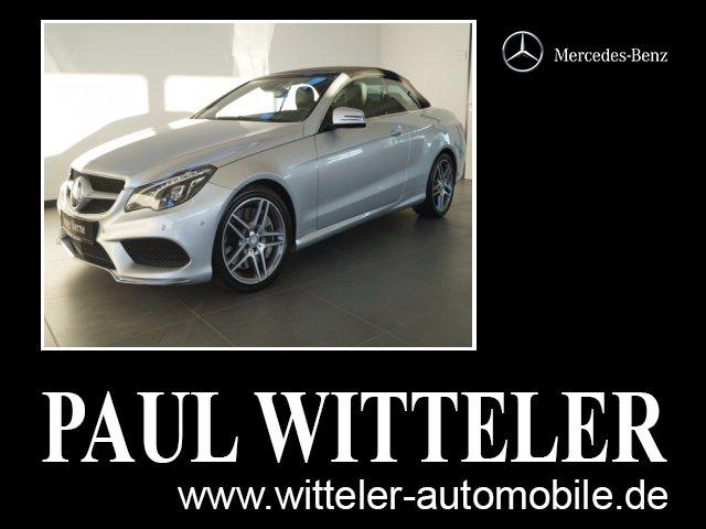 Mercedes-Benz E 500 Cabriolet LED/Kamera/Memory COMAND APS/BC, Jahr 2017, Benzin