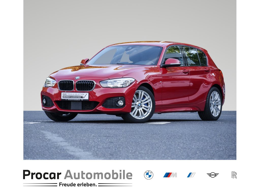 BMW 118d M-SPORT+NAVI BUSINESS+ACC+SHZ.+PDC+KLIMAAUTOMA.+, Jahr 2017, Diesel