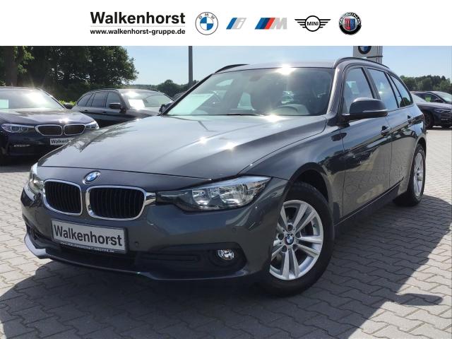 BMW 318 d Touring Navi AHK Sitzheizung Bluetooth Tempomat, Jahr 2017, Diesel