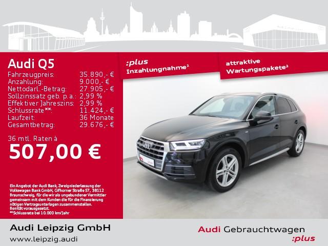 Audi Q5 2.0 TDI quattro sport S-tro. *S-line*Matrix*, Jahr 2017, Diesel