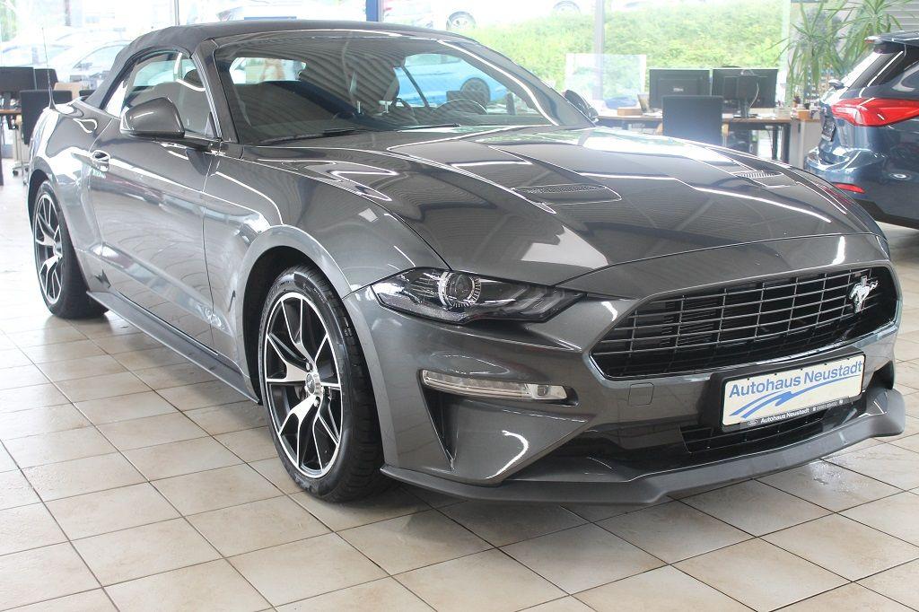 Ford Mustang Convertible 2.3 EcoBoost*Klappenauspuff, Jahr 2020, Benzin