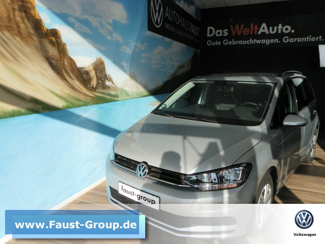 Volkswagen Touran UPE 34500 EUR Gar-02/2022 7 Sitzer GRA, Jahr 2019, Diesel