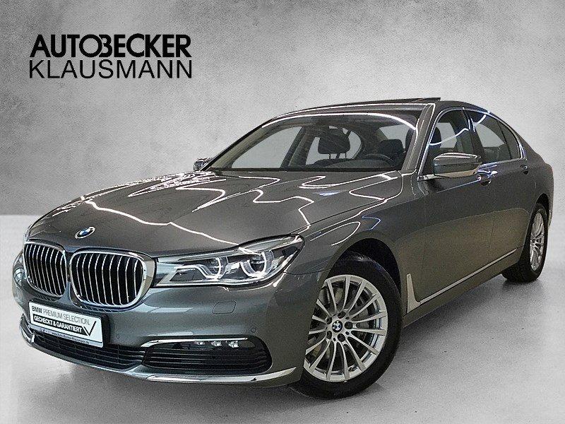 BMW 740d xDrive Glasdach Massage 360° Kamera Ferngest Parken, Jahr 2016, Diesel