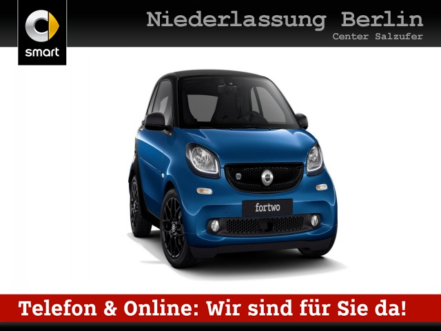 "smart smart fortwo Elektro drive ""passion"", Jahr 2018, electric"