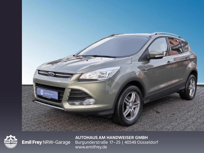 Ford Kuga Titanium 1.6 EcoBoost, Jahr 2013, Benzin
