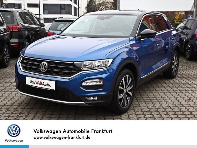 Volkswagen T-ROC 1.5 TSI Style Anschlußgarantie Einparkhilfe Navi Leichtmetallfelgen T-ROC 1.5 CL BT110 TSIM6F, Jahr 2020, Benzin