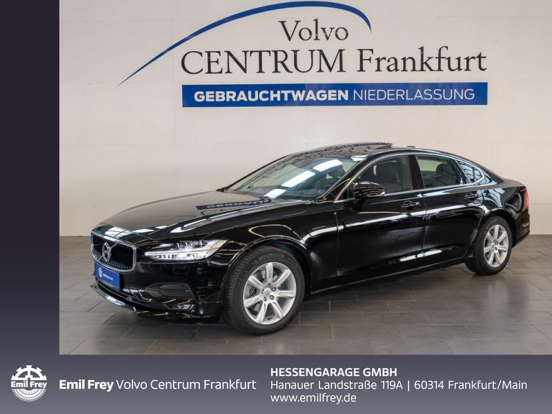 Volvo S90 D4 Momentum Aut Leder Glasd BLIS Navi VollLED, Jahr 2017, Diesel